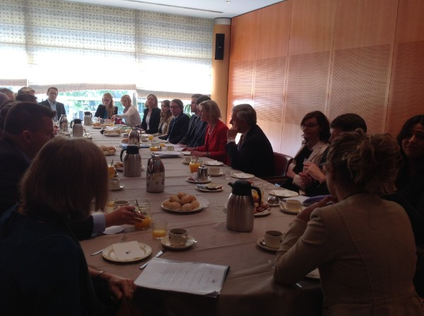 "EU Parliament breakfast discusses on ""Standardisation of Heathcare Services and Patient Safety"""